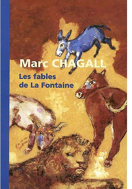 catalogue Chagall Fables La Fontaine